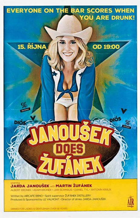 Janoušek does Žufánek