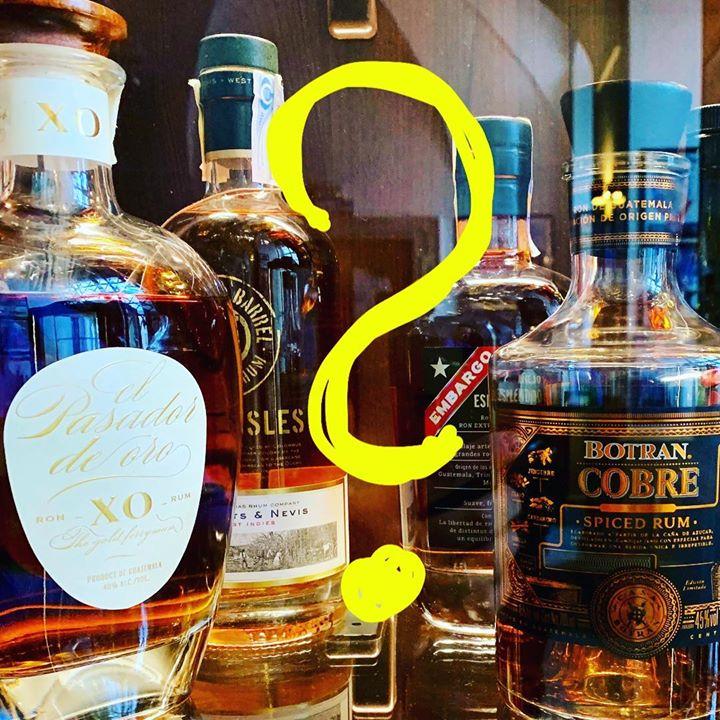 Přátelé, máme mezi vámi našeho rumového fanouška, který dnes dopoledne přišel pů